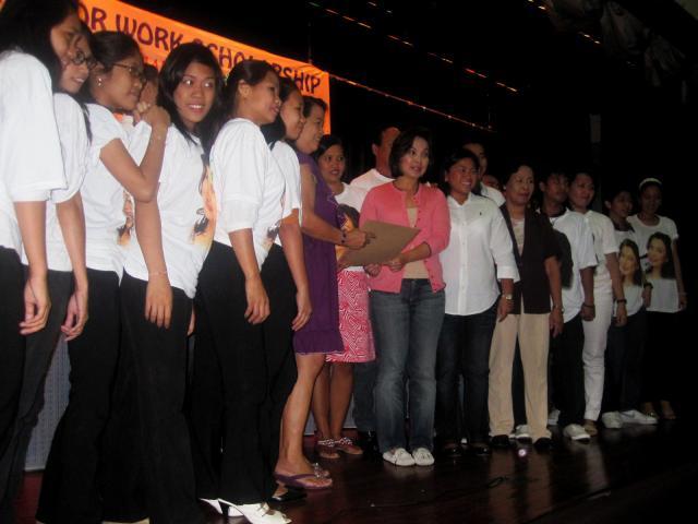 Legarda's TESDA Scholars Graduation