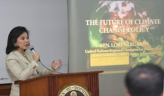 Ateneo Lecture on Climate Change