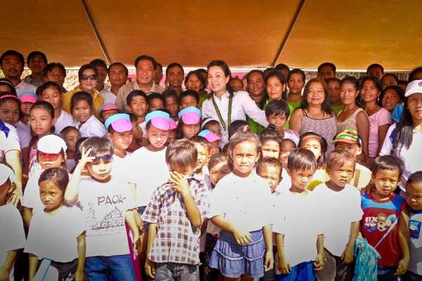 Sen. Loren Legarda inaugurates Barangay Sideg Road in Paoay, Ilocos Norte