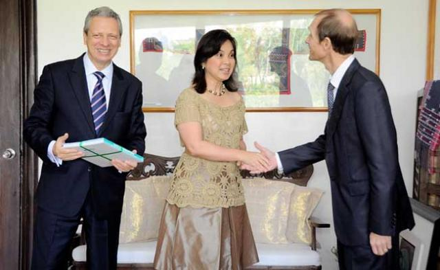 Sen. Legarda with Ambassador Guy Ledoux