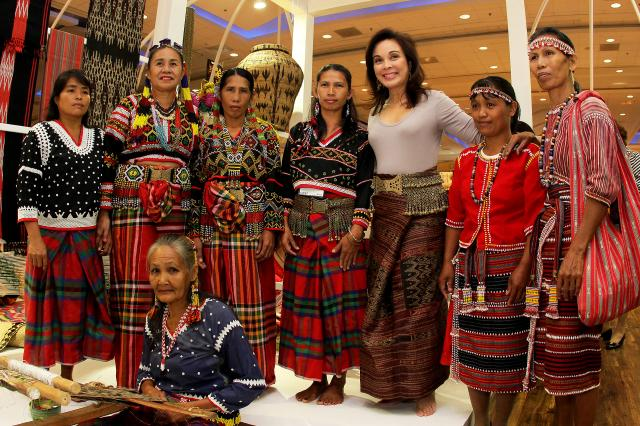 Launch of Hibla Pavilion of Textiles & Weaves of the Philippines