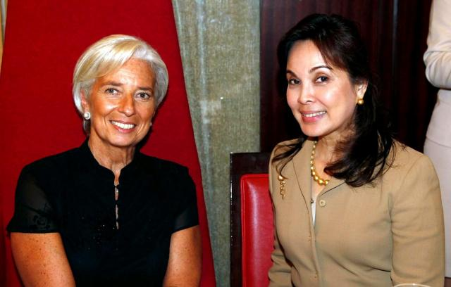 Legarda Meets IMF's Lagarde