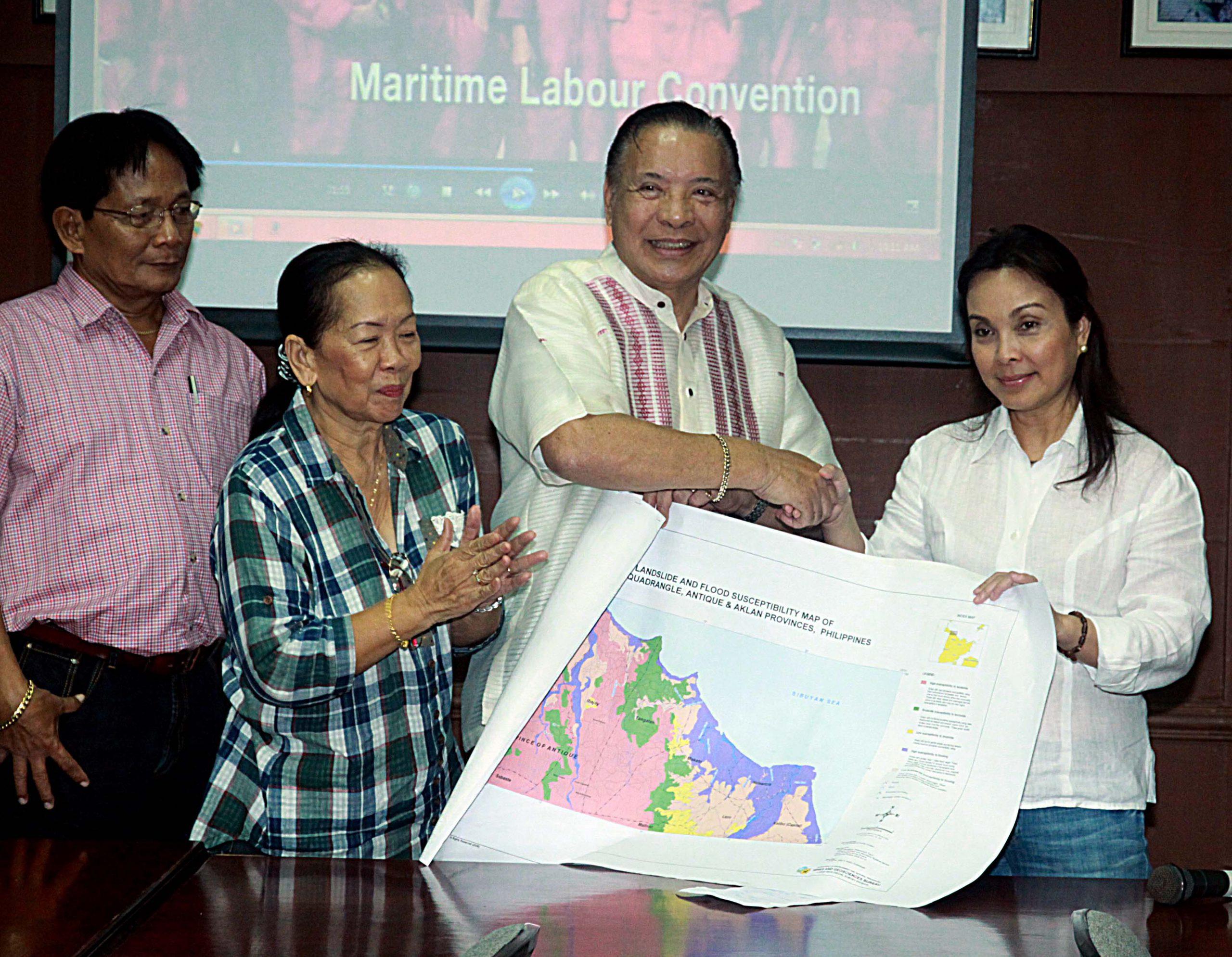 Loren Brings Green Campaign to Panay Island