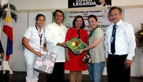 Loren visits NCR schools to campaign on Disaster Risk Reduction