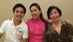 Mother Lily endorses Senator Loren