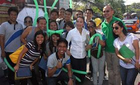 Senator Legarda in San Fernando, La Union