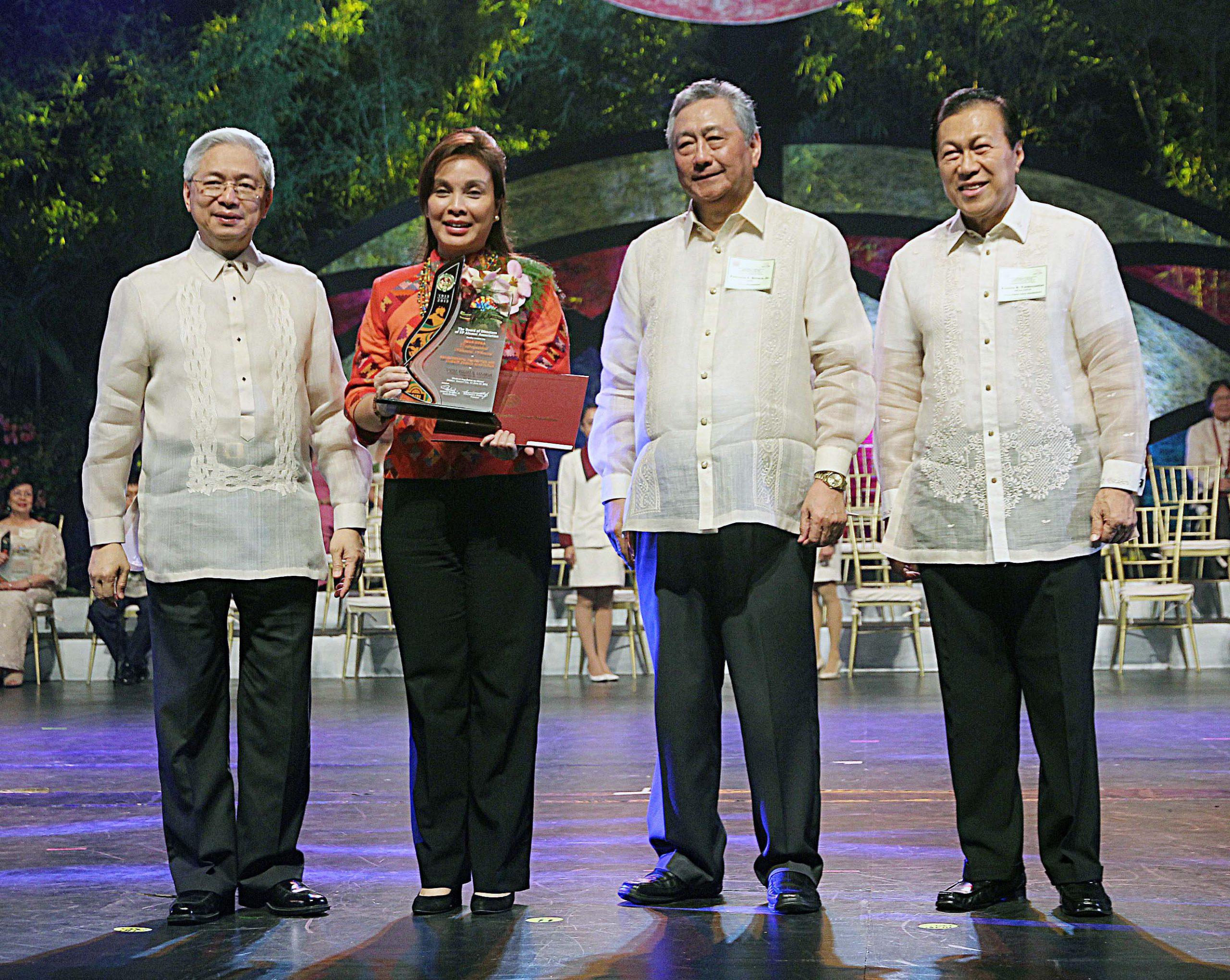 Legarda Hailed as Distinguished UP Alumna