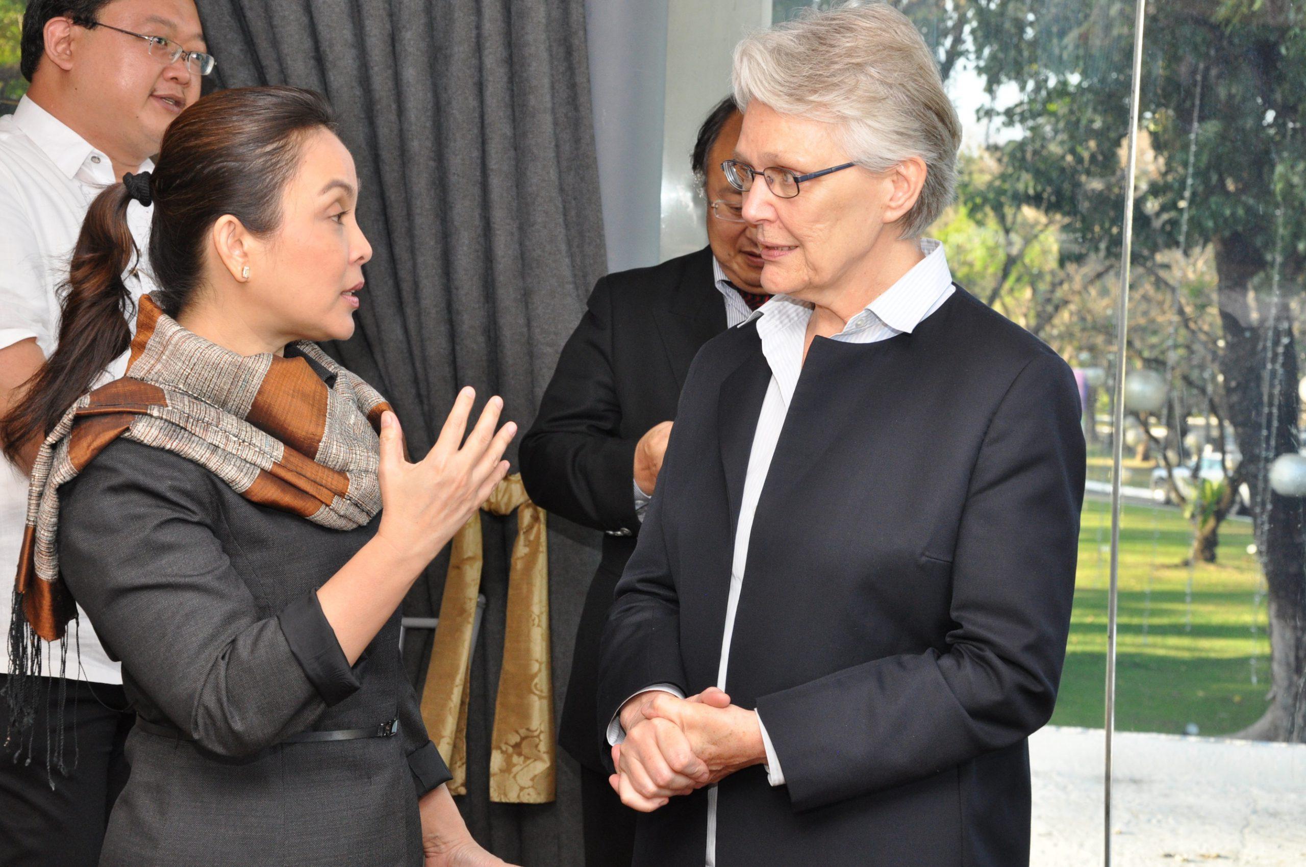 Senator Legarda and Ms. Margareta Wahlström
