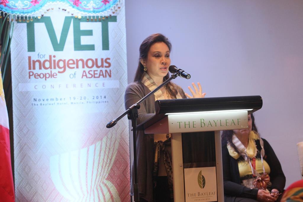 TESDA's TVET for IPs in ASEAN