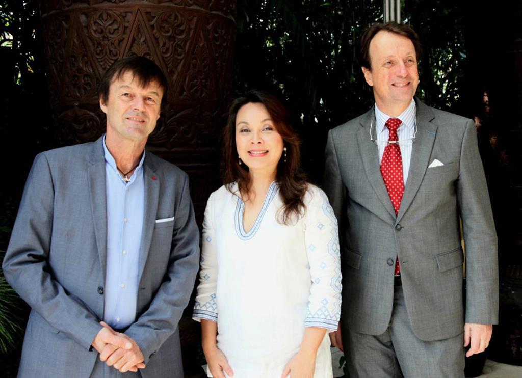Legarda with France's Special Climate Envoy
