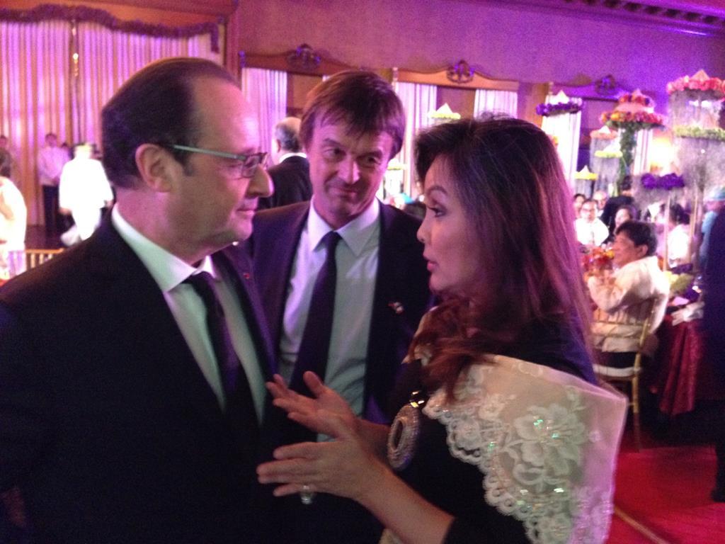 French President Francois Hollande Manila Visit 2015