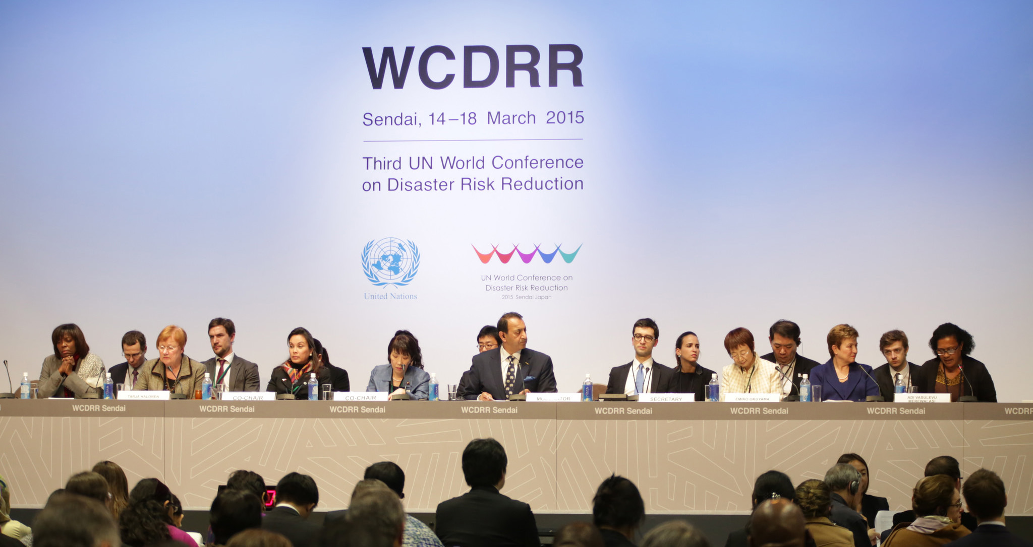 High Level Dialogue on Women's Leadership in DRR