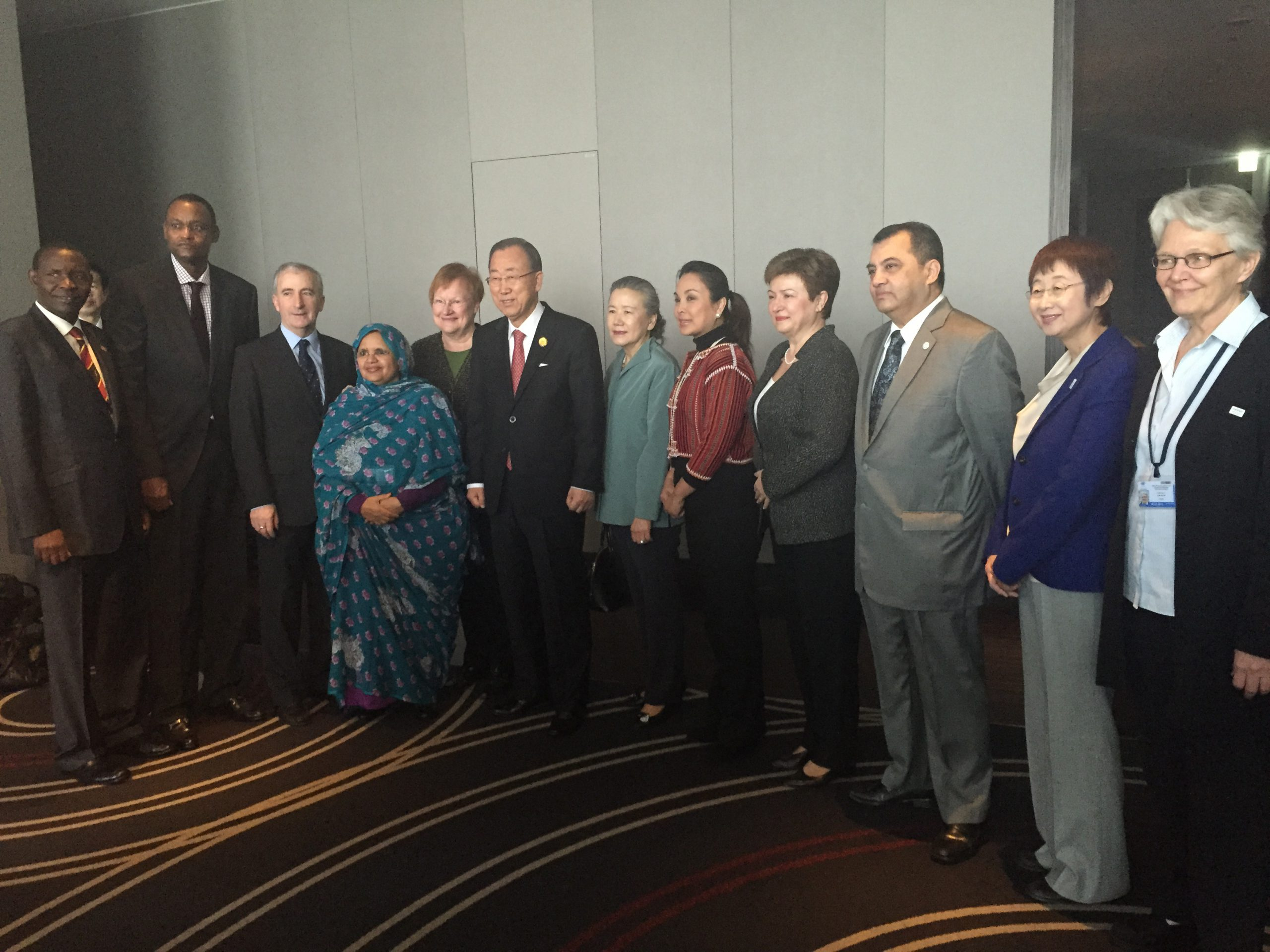 Special Meeting among DRR Champions with the UN Secretary-General Ban Ki-Moon