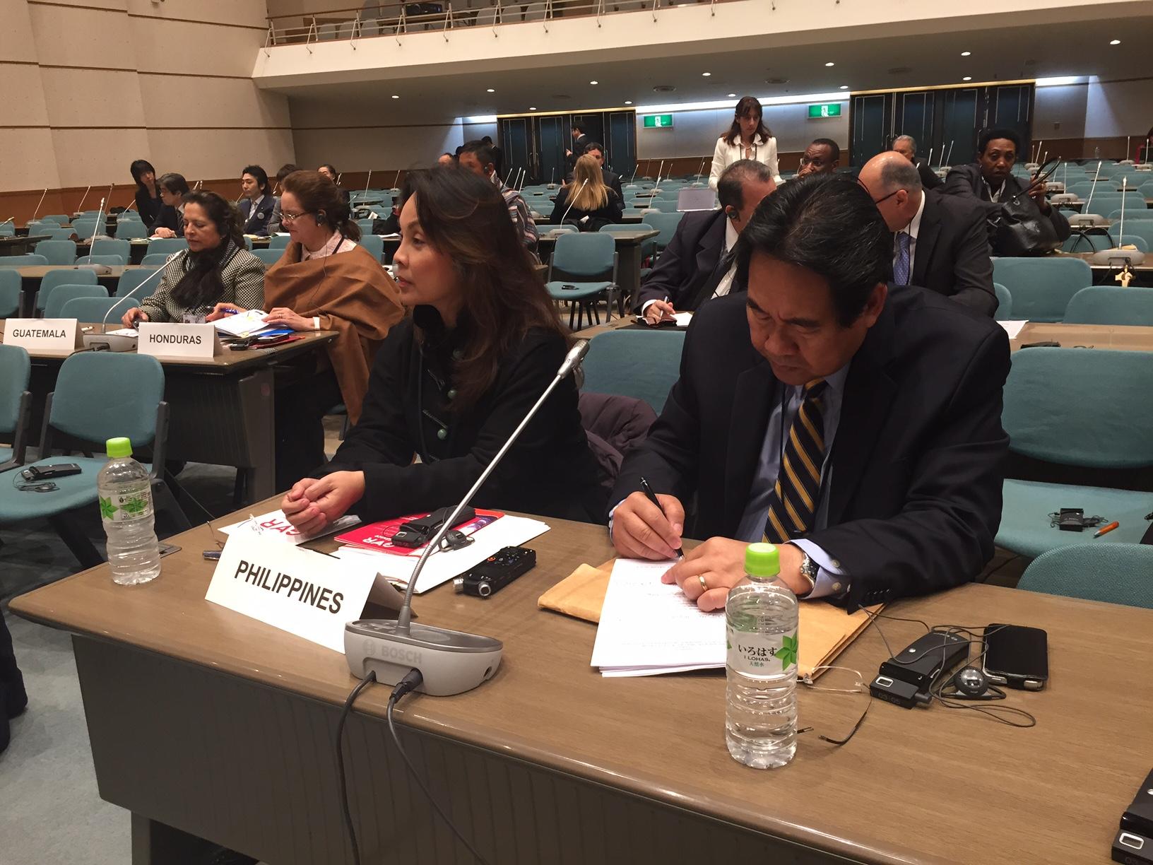 IPU Parliamentary Meeting: Governance and Legislation for DRR in Sendai, Japan