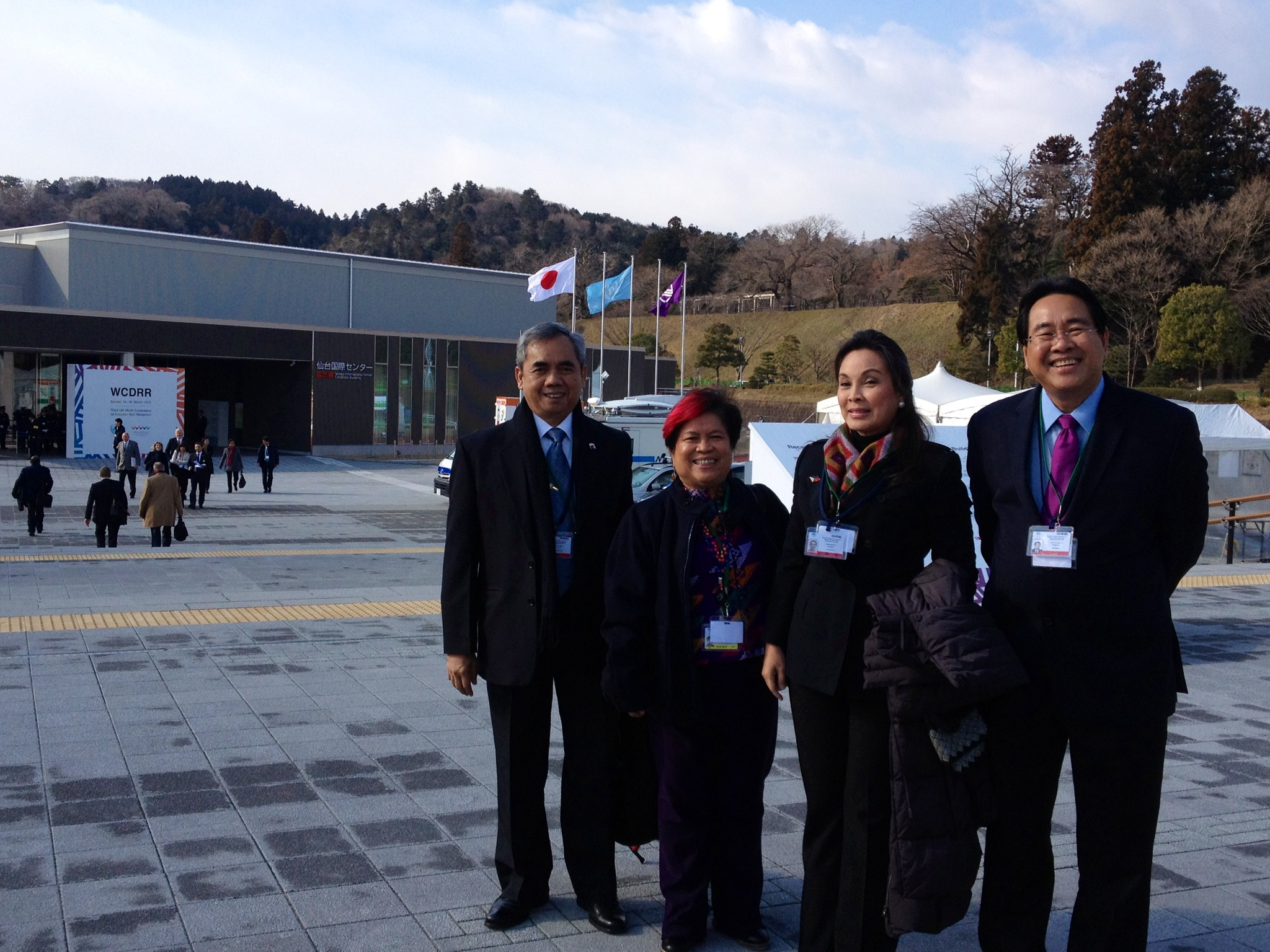 Opening Ceremony of 3rd UN Conference on DRR in Sendai