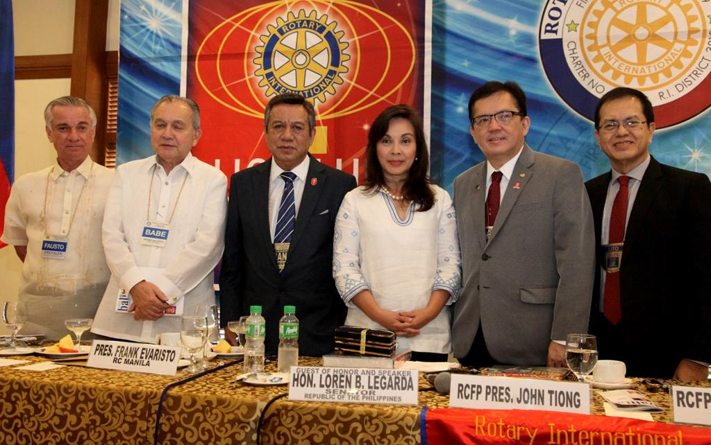 Joint Meeting Between the Rotary Club of Manila and Rotary Club of Forbes Park