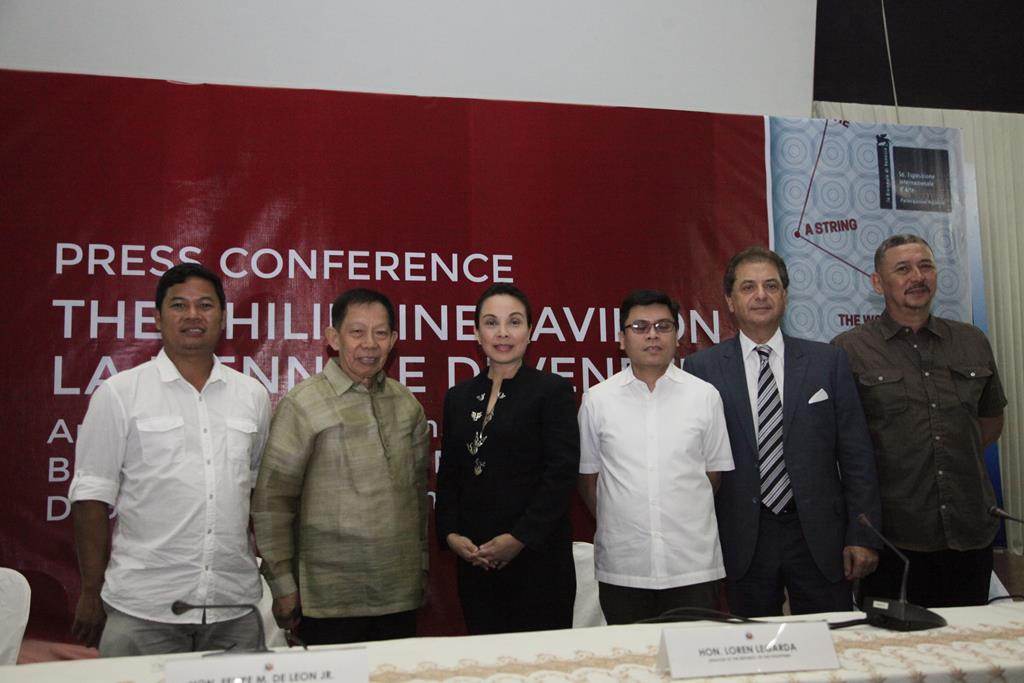 Press Conference for the Philippines' participation at the 56th International Art Exhibition of the Venice Biennale