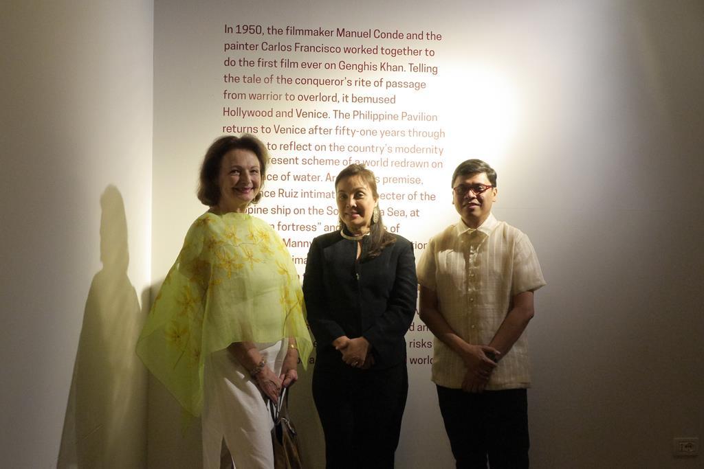 Philippine Pavilion at  the 2015 Venice Biennale