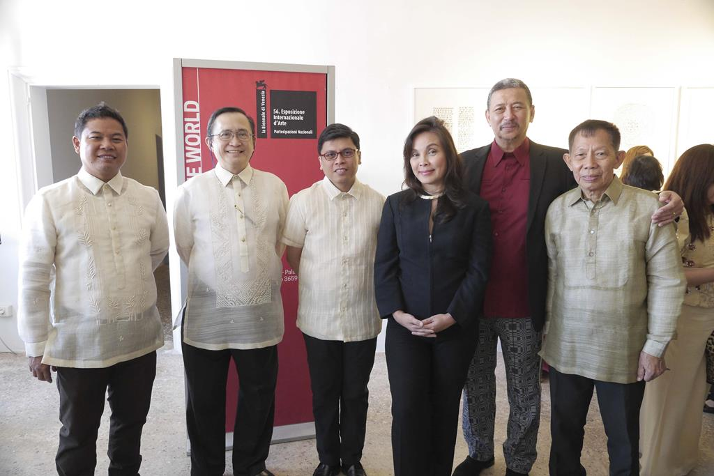 Vernissage of the Philippine Pavilion at  the 2015 Venice Biennale