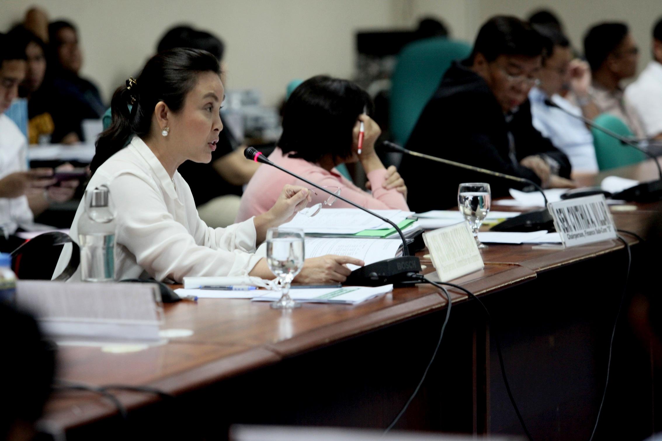 Senator Legarda at DA Budget Hearing