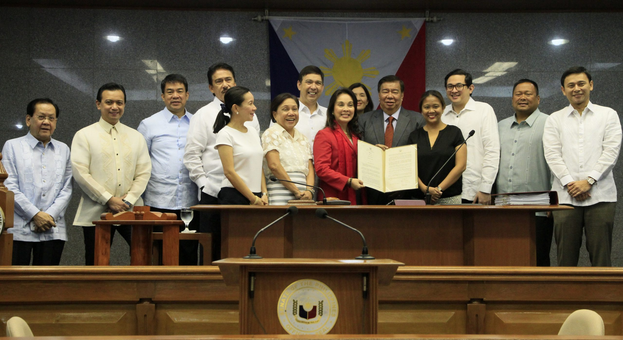 Senate Commends UN Global Champion