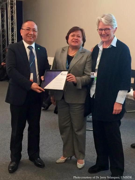 Senator Legarda as UNISDR Global Champion