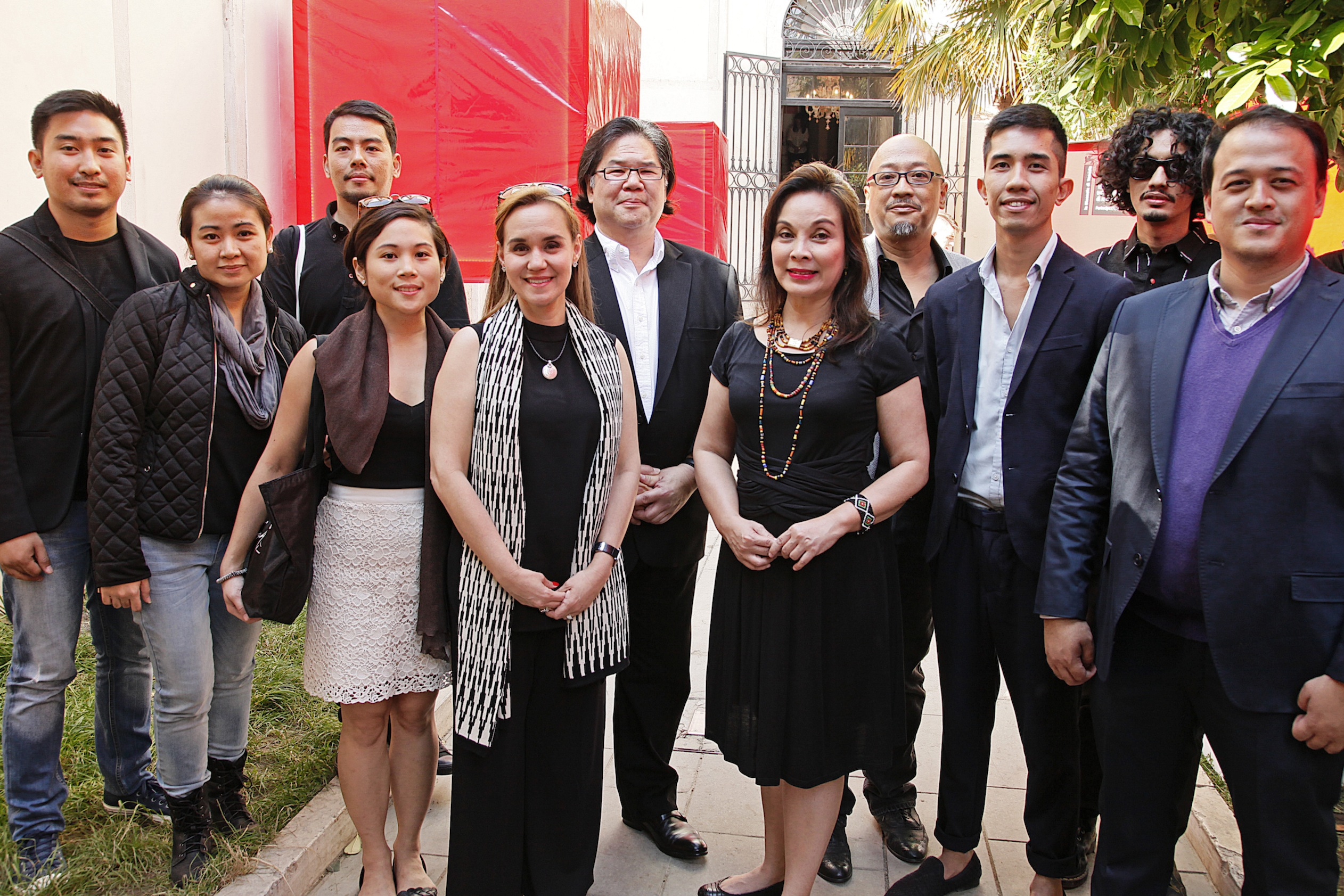 """Vernissage of the Philippine Pavilion in the 15th Architecture Venice Biennale """"Muhon: Traces of an Adolescent City"""""""