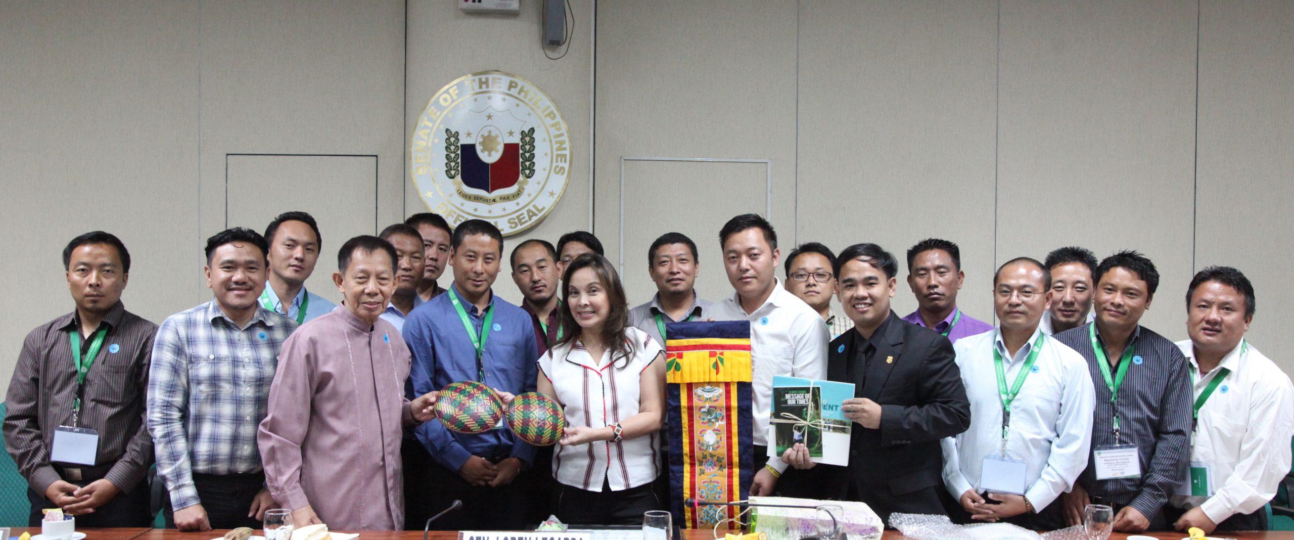 Senator Legarda with Bhutanese Officials