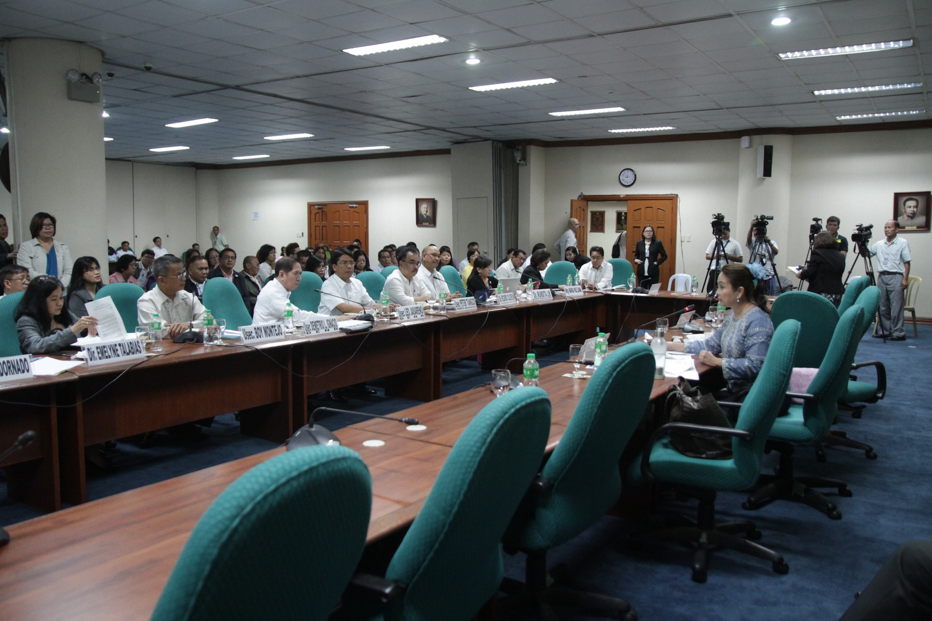 Second hearing on the proposed 2017 budget of the Department of Environment and Natural Resources (DENR)