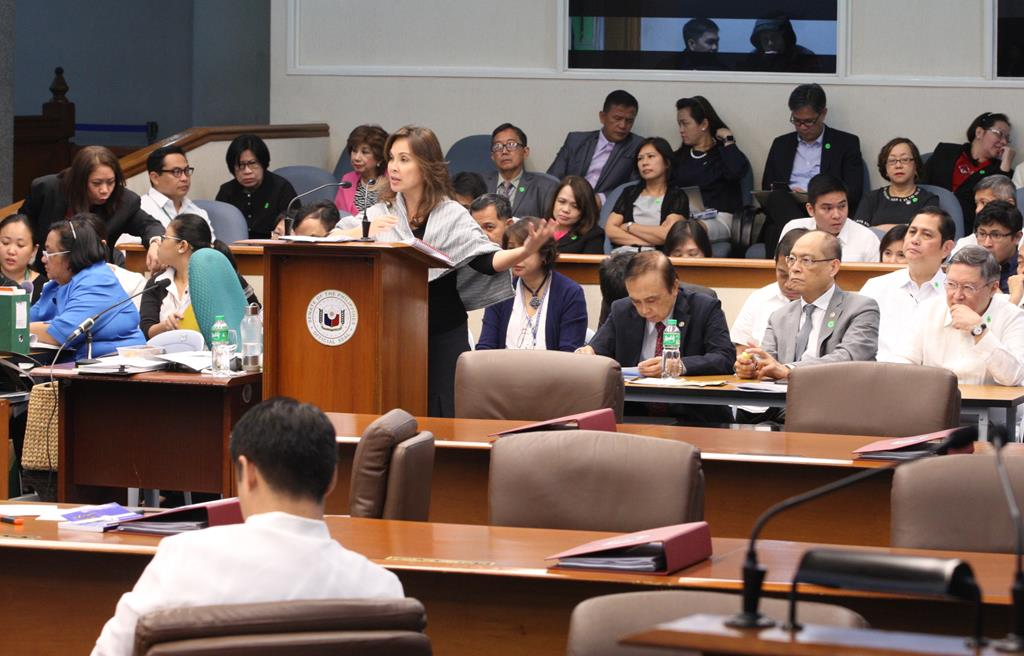 Day 1 of Senate Deliberations for 2017 Budget