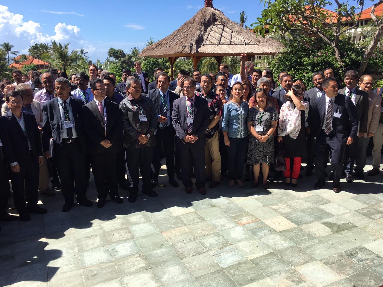 Legarda at GCF Dialogue in Bali