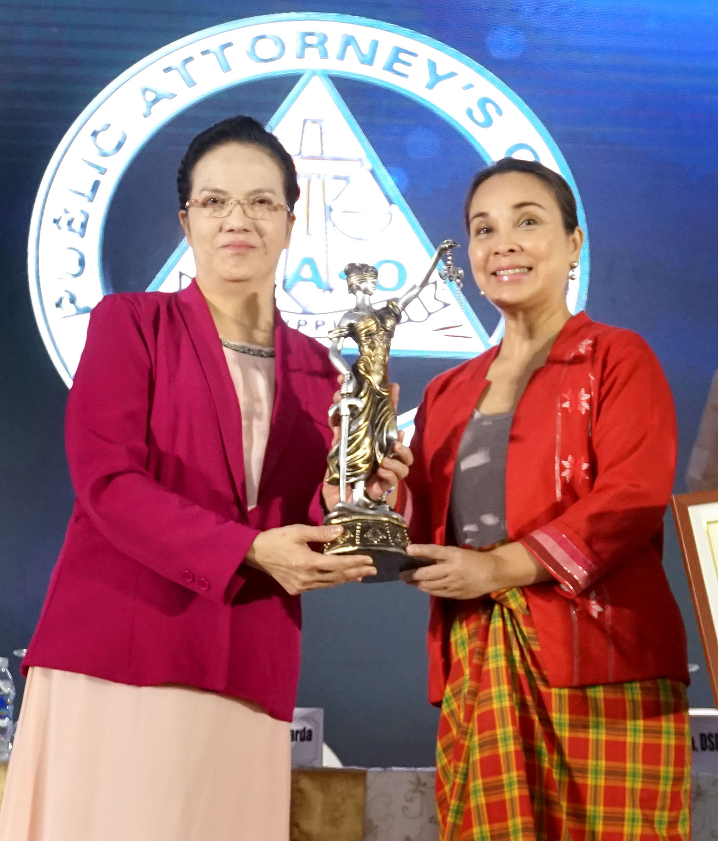 Legarda Receives Outstanding Lady Senator Award from PAO