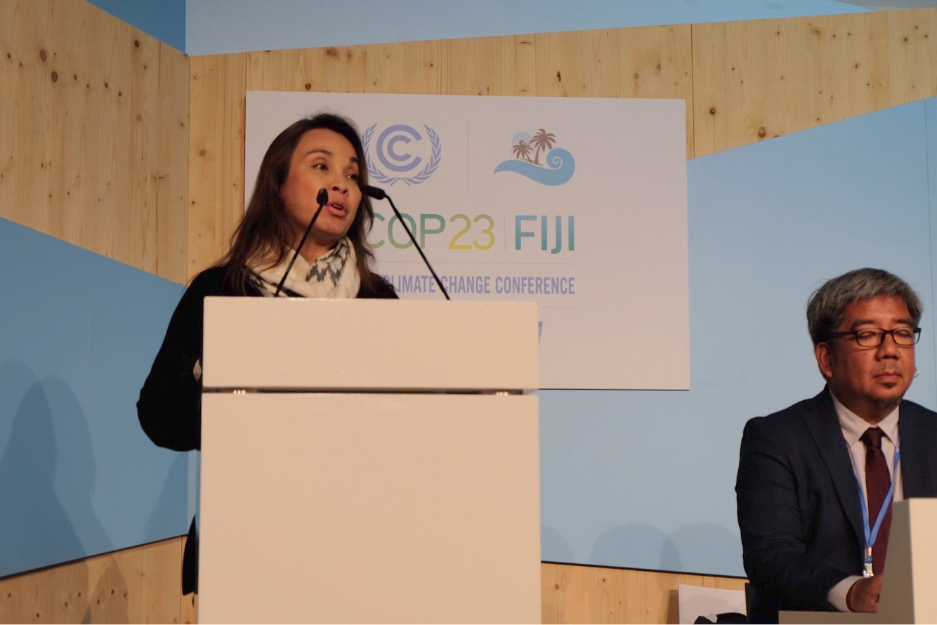 Senator Loren Legarda at COP23