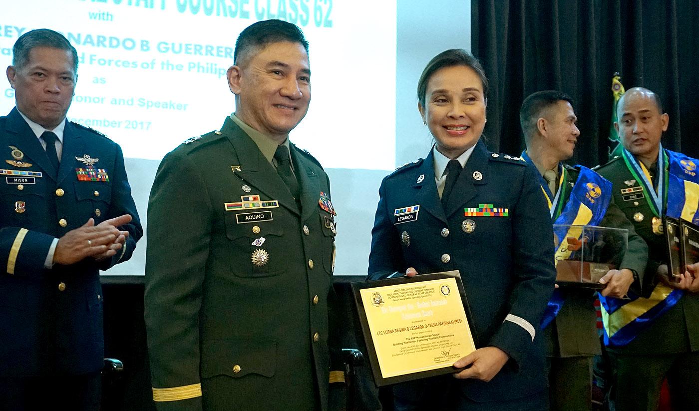 Legarda Graduates from AFP College