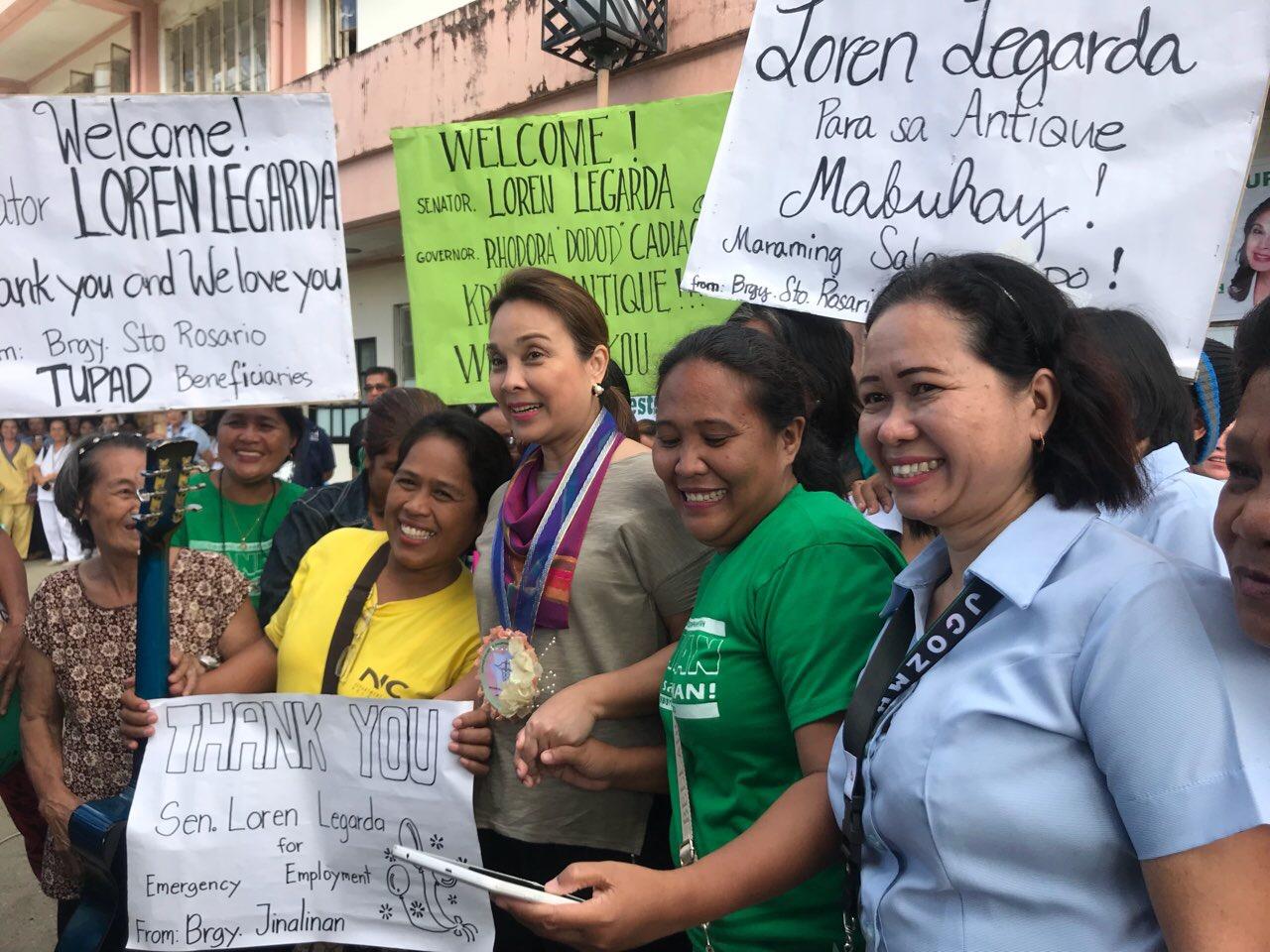 Senator Legarda Visits Antique (Day 2 – January 11, 2018)
