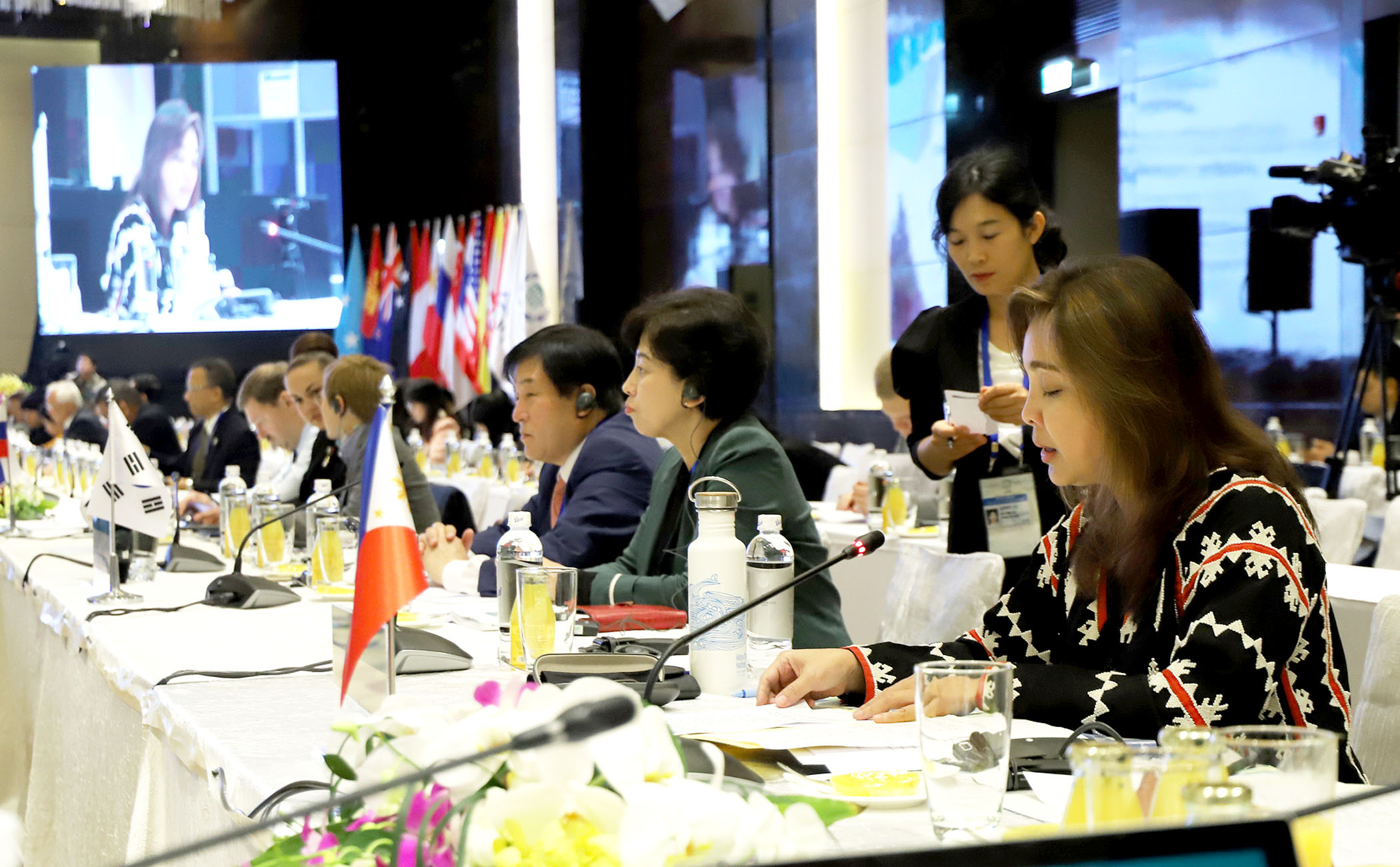 Legarda Sponsors PHL Resolution on Reg'l Cooperation on Climate and Disaster Resilience at 26th Asia-Pacific Parliamentary Forum