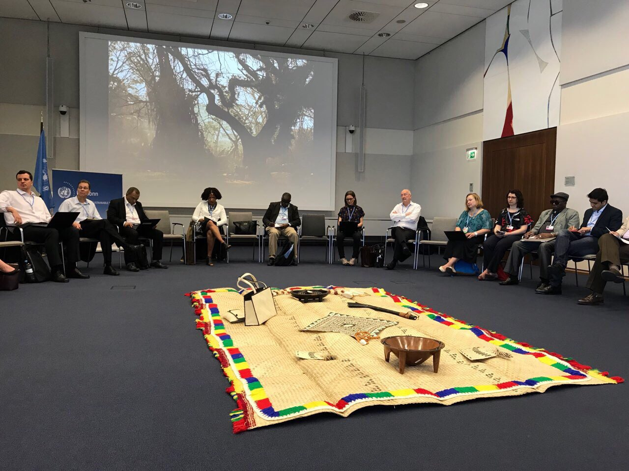 Talanoa Dialogue at the 2018 Climate Change Conference in Bonn, Germany