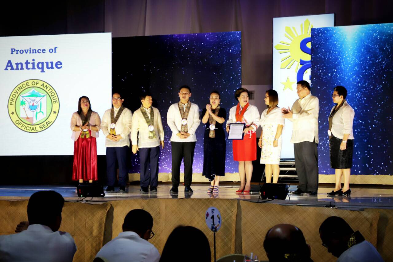 Antique Receives Seal of Good Local Governance